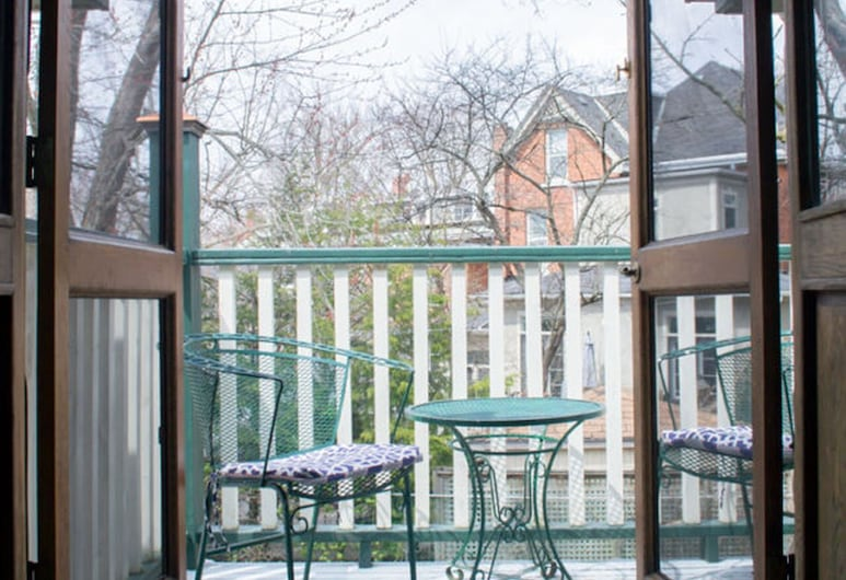 Hochelaga Inn, Kingston, Chambre, Balcon