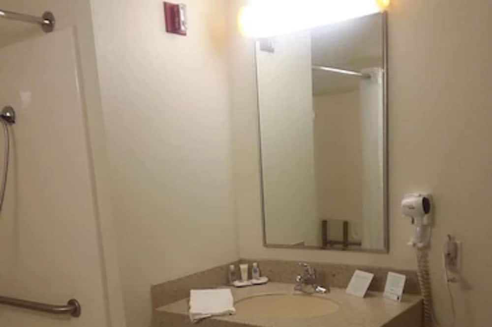 標準客房, 1 張加大雙人床, 無障礙, 非吸煙房 - 浴室
