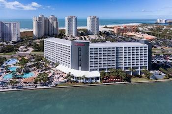 清水海灘沙島克利爾沃特海灘萬豪套房飯店的相片