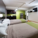 Standard Room, 2 Double Beds, Non Smoking, Refrigerator & Microwave - Guest Room