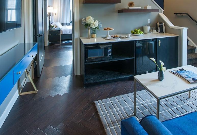 The Goodwin Hotel, Hartford, Duplex, 2 Bedrooms, Living Area