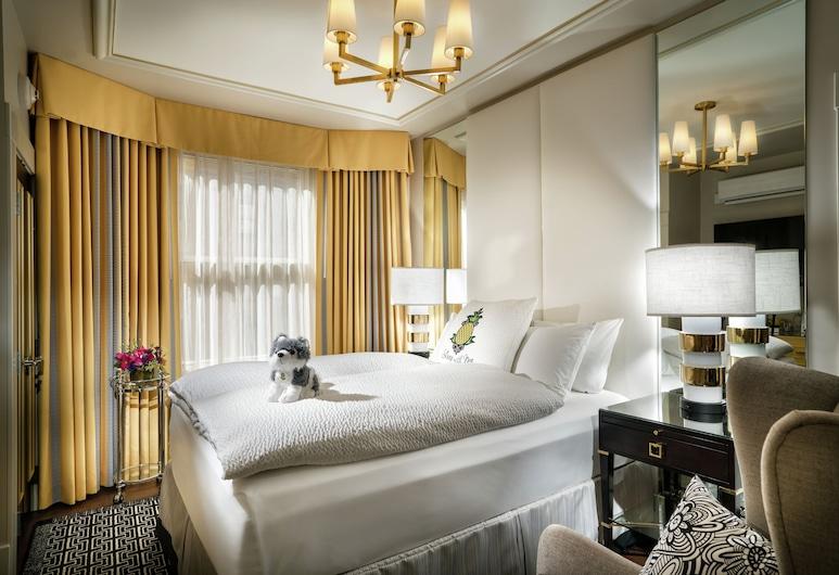 สเตย์ไพน์แอปเปิ้ล แอน เอเลแกนท์โฮเทล ยูเนียนสแควร์, ซานฟรานซิสโก, ห้องพัก, เตียงควีนไซส์ 1 เตียง (Persona), ห้องพัก