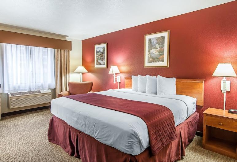 Quality Inn Downtown Convention Center, Portland, Chambre Standard, 1 très grand lit, non-fumeurs, Chambre