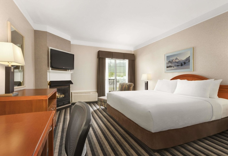 Days Inn by Wyndham Canmore, Canmore, Camera, 1 letto king, non fumatori, Camera