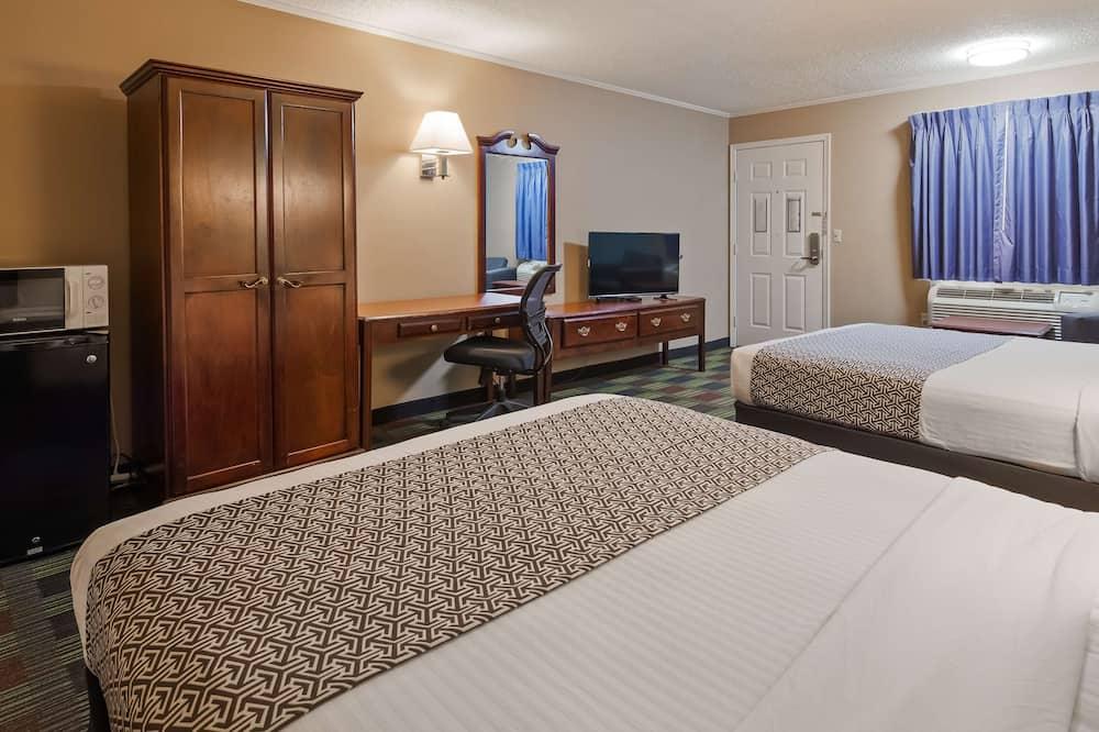 標準客房, 2 張加大雙人床, 吸煙房, 雪櫃和微波爐 - 客房