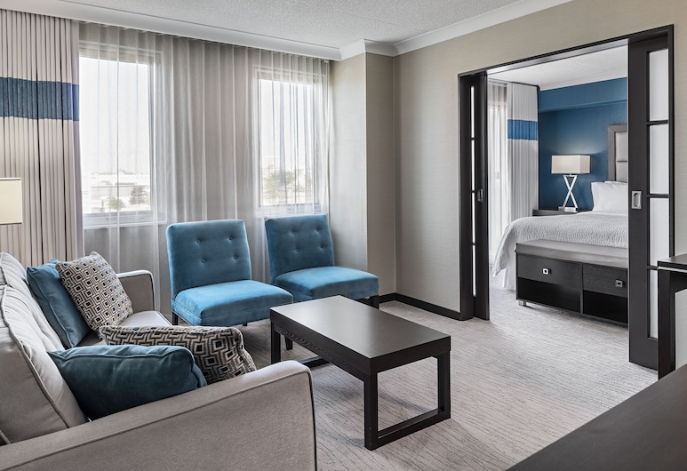 倫敦福朋飯店, 倫敦, 套房, 1 張特大雙人床, 非吸煙房, 高層, 特色相片