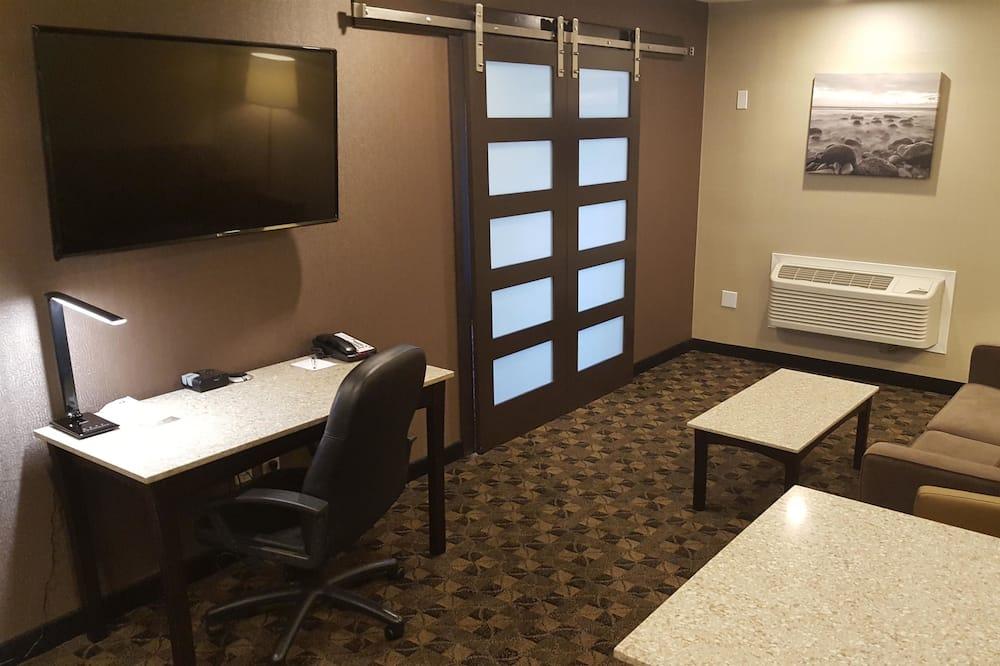 Phòng Suite, 1 giường cỡ king, Không hút thuốc, Bếp nhỏ - Khu phòng khách