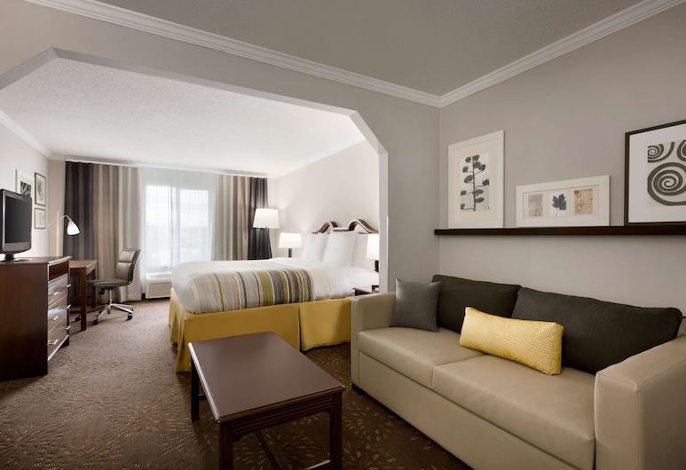 Country Inn & Suites by Radisson, Commerce, GA, Commerce, Suite estudio, 1 cama King size, para no fumadores, Habitación