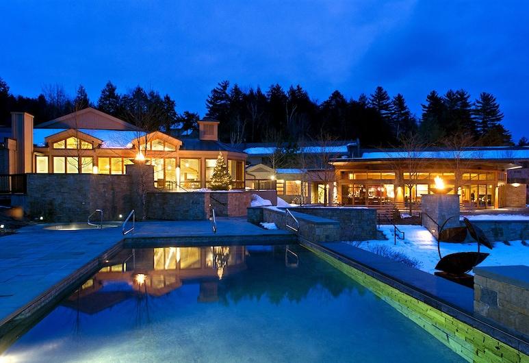 Topnotch Resort, סטואו, בריכה חיצונית