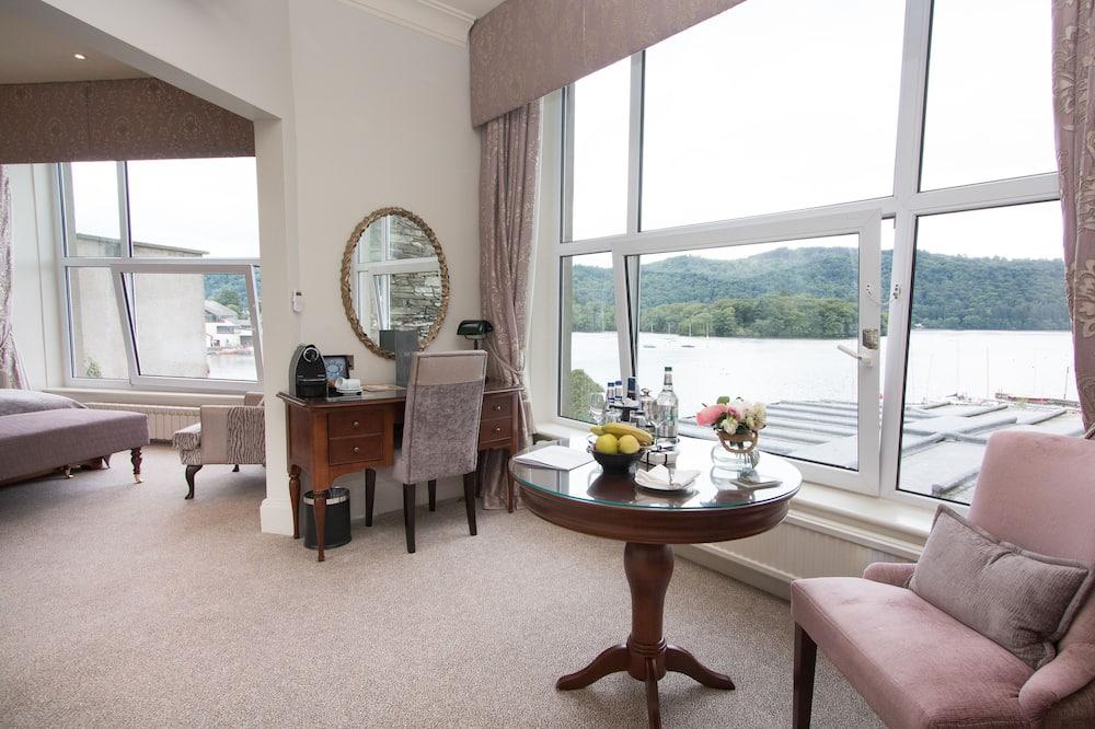 Habitación doble (Feature Suite) - Zona de estar