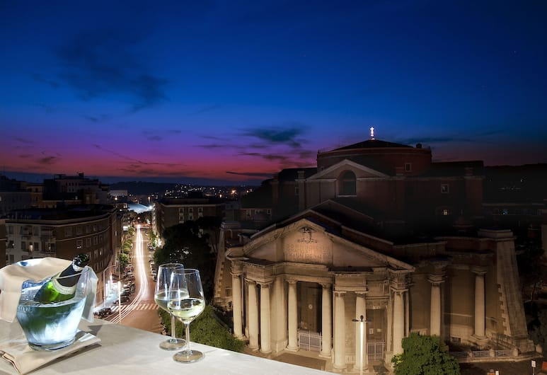 Grand Hotel Ritz, Rome, Presidential Suite (Puccini), City View