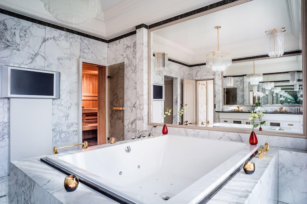 總統套房, 1 間臥室, 非吸煙房, 壁爐 - 浴室