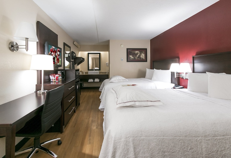 Red Roof Inn PLUS+ Chicago - Hoffman Estates, Hoffman Estates, Premium tuba, 2 kahevoodit (Upgraded Bedding & Snack, Smoke Free), Tuba