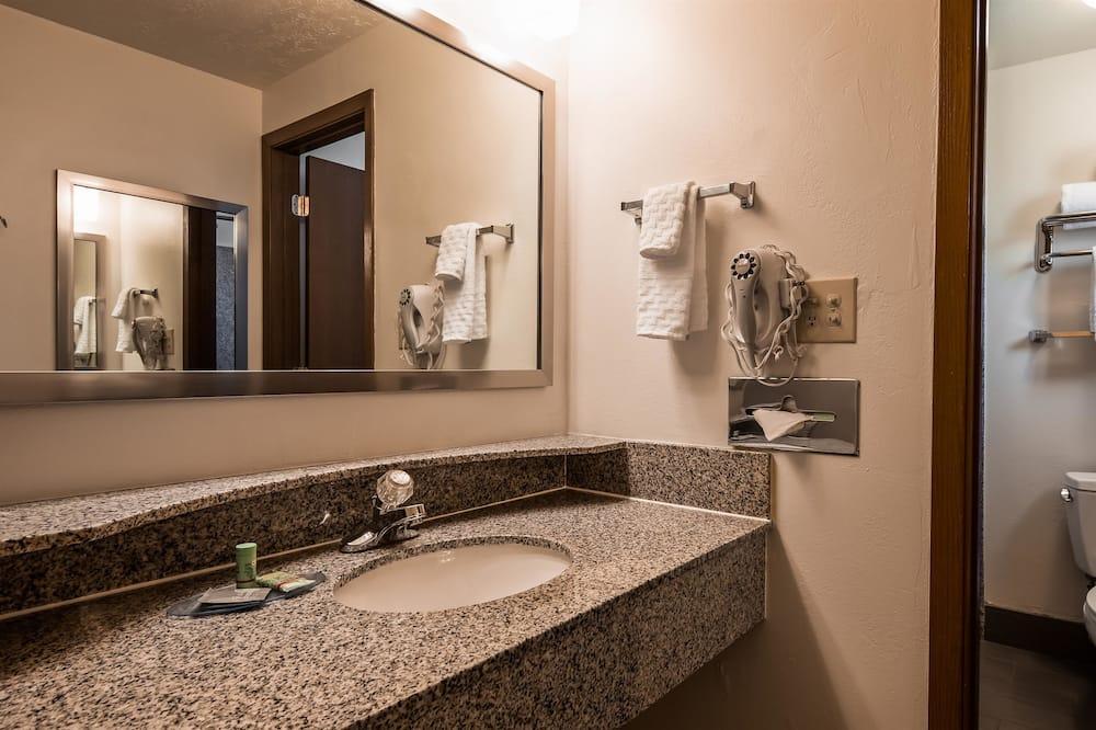 Suite - 1 kingsize-seng - ikke-ryger - Badeværelse