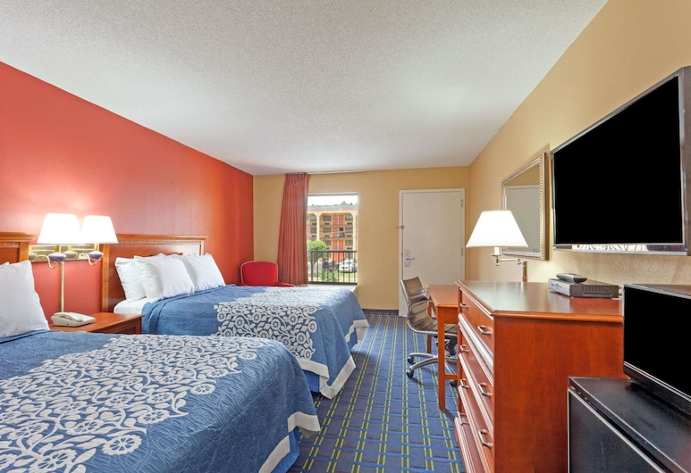 Days Inn by Wyndham Memphis - I40 and Sycamore View, Memphis, Doppelzimmer, 2 Doppelbetten, Zimmer