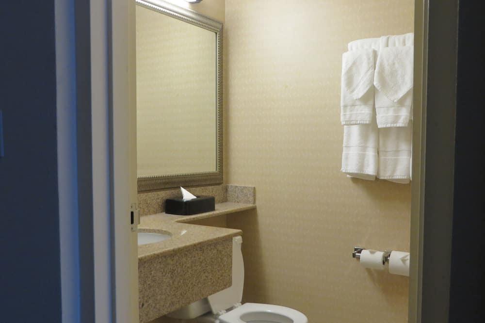 Studiosuite, 1King-Bett und Schlafsofa, Nichtraucher - Badezimmer