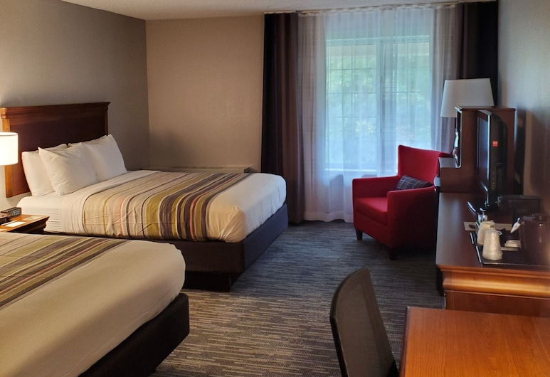 Country Inn & Suites by Radisson, Fredericksburg South (I-95), VA, Fredericksburg, Room, 2 Queen Beds, Non Smoking, Guest Room