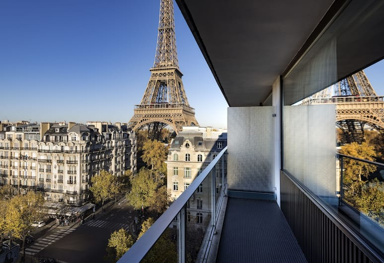 Pullman Paris Tour Eiffel, Paris, Deluxe Room, Balcony, View (Trocadéro View, Eiffel Tower View), Balcony View
