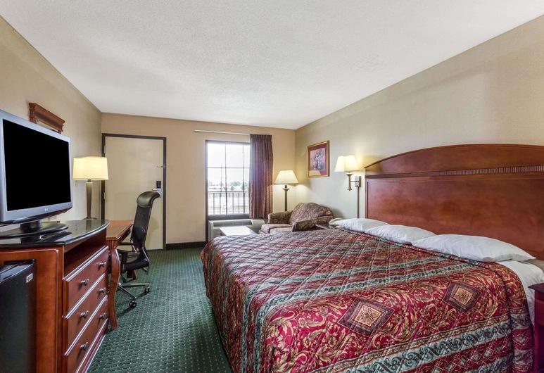 Days Inn by Wyndham Camp Springs/Andrews AFB DC Area, Camp Springs, Quarto Standard, 1 cama king-size, Fumadores, Quarto