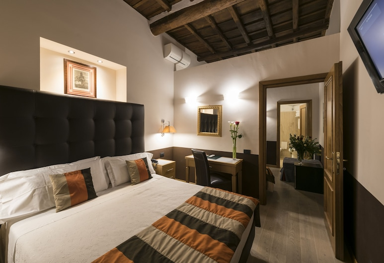 Hotel Duca d'Alba, Rome, Chambre Double Club (with extra bed), Chambre