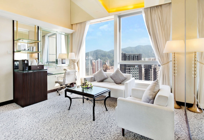 Regal Hongkong Hotel, Hong Kong, Royale Suite, Guest Room