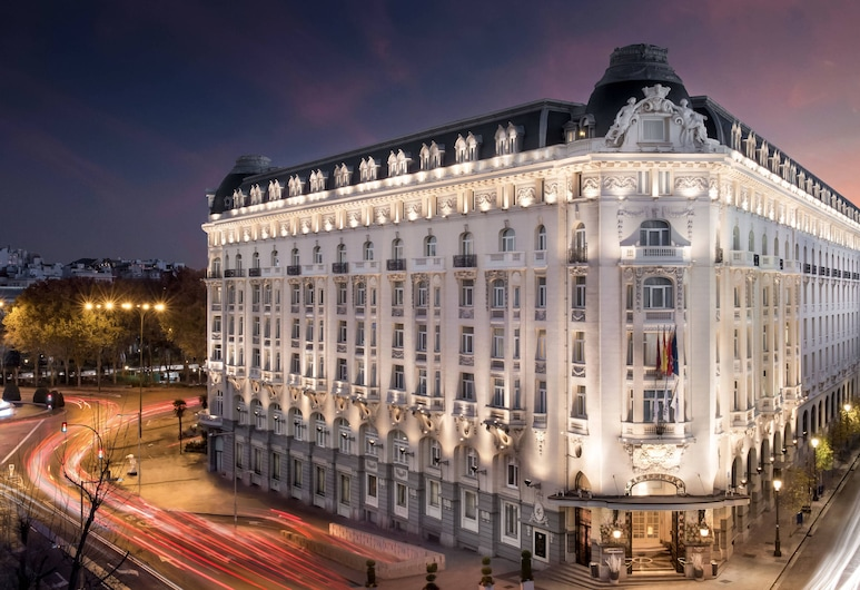 The Westin Palace, Madrid, Madrid, Fachada del hotel