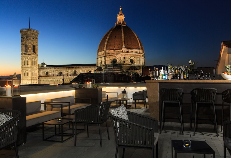 Grand Hotel Cavour, Florence, Terrace/Patio
