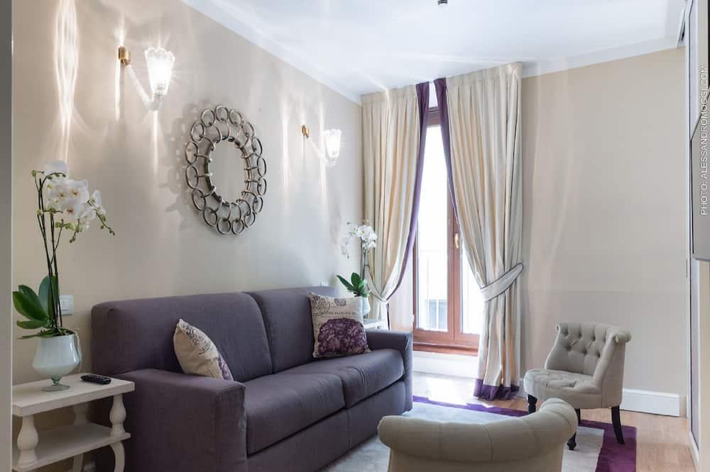 Štúdiový apartmán typu Junior - Obývacie priestory