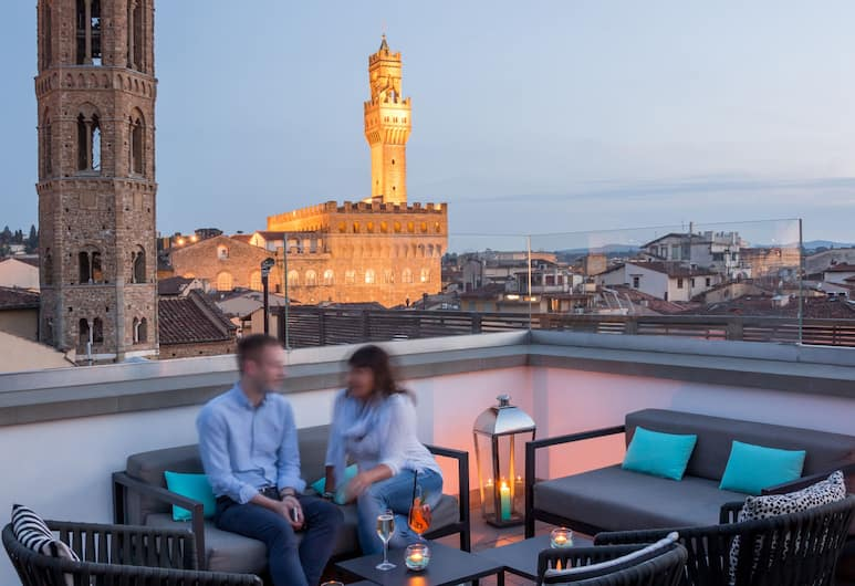 Grand Hotel Cavour, Florence, Teras/Patio