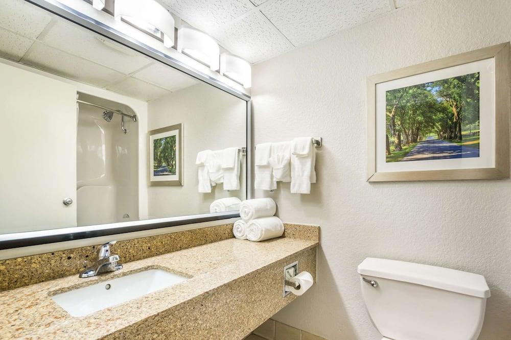 Standardzimmer, 1King-Bett, Nichtraucher - Badezimmer