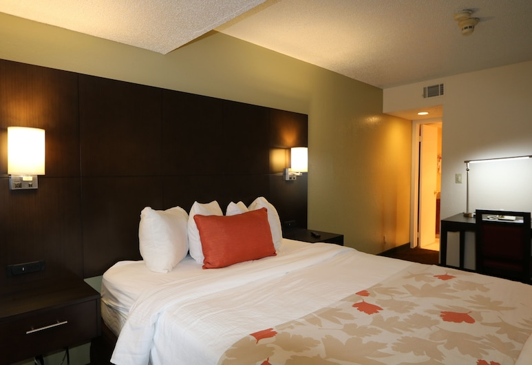 FairBridge Inn & Suites - Akron Copley Township - West, Akron, Standard-Studiosuite, 1 Queen-Bett, Zimmer