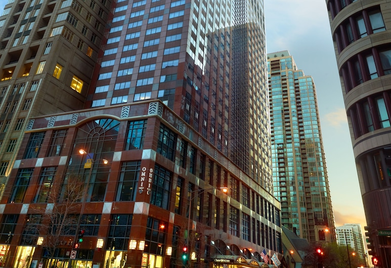 Omni Chicago Suites - Magnificent Mile, Chicago, Fachada do Hotel