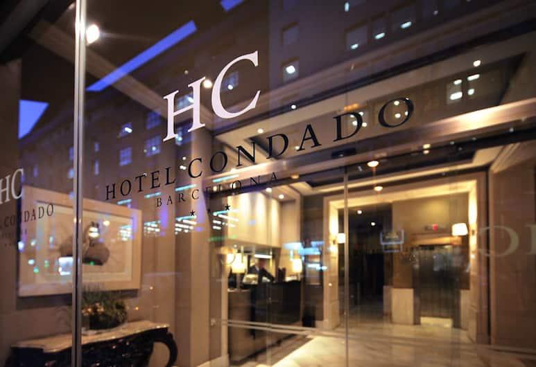 Condado, Barcelona, Ingang van hotel