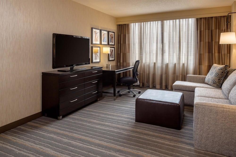 Apartmán, 1 extra veľké dvojlôžko s rozkladacou sedačkou - Hosťovská izba