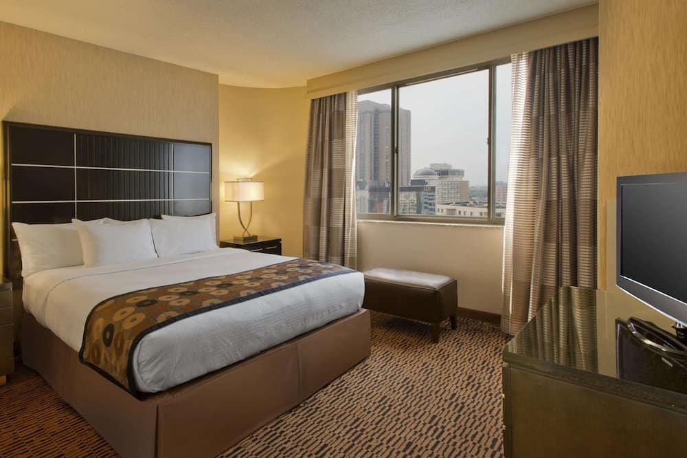Apartmán typu Premium, 1 extra veľké dvojlôžko s rozkladacou sedačkou - Obývacie priestory