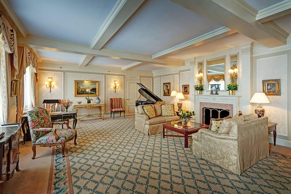 Presidential-Suite, 1King-Bett - Wohnbereich