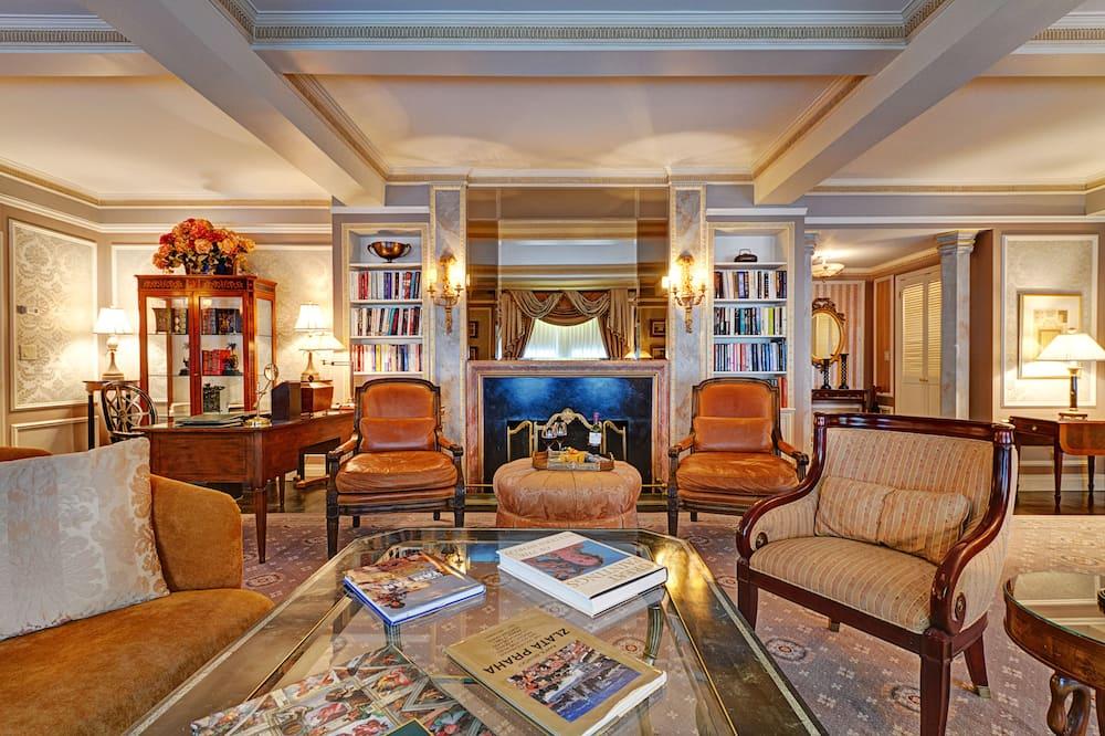 Presidential-Suite, 1King-Bett - Wohnzimmer