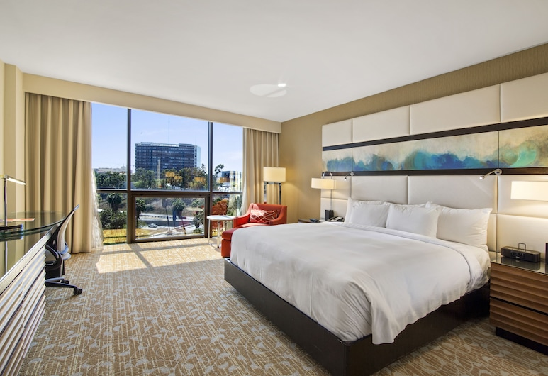 The L.A. Grand Hotel Downtown, Los Angeles, Izba, 1 extra veľké dvojlôžko, bezbariérová izba, Hosťovská izba