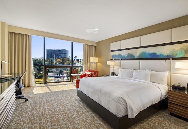 The L.A. Grand Hotel Downtown, Λος Άντζελες, Δωμάτιο, 1 King Κρεβάτι, Πρόσβαση για Άτομα με Αναπηρία, Δωμάτιο επισκεπτών