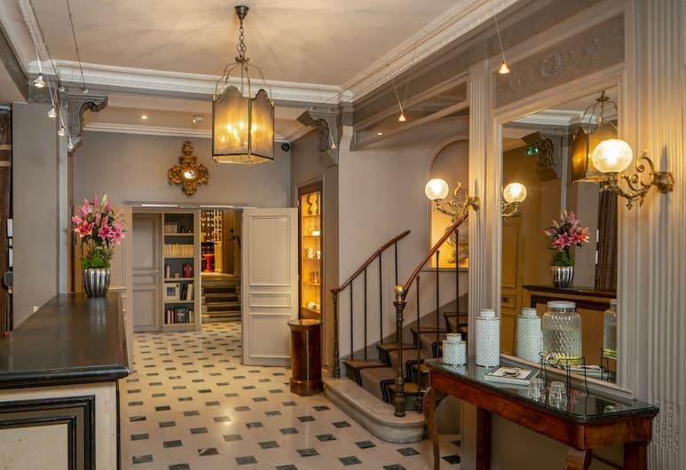 Hôtel LOUISON, Paris, Lobby