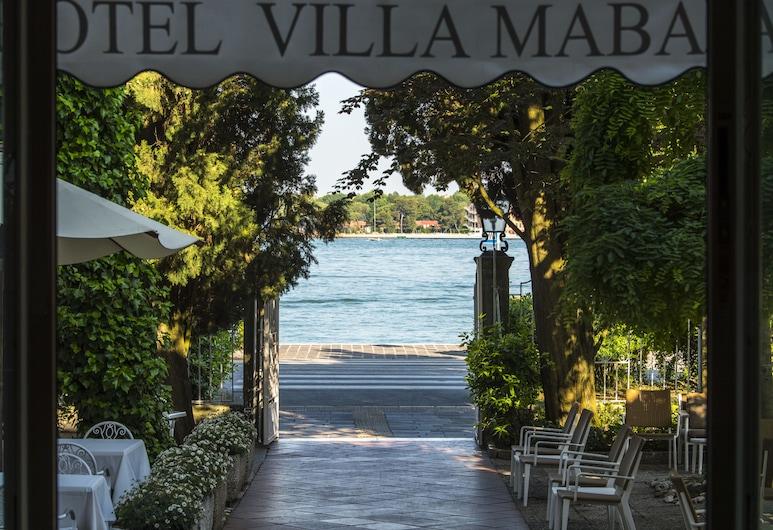 Hotel Villa Mabapa, Venedig, Blick vom Hotel