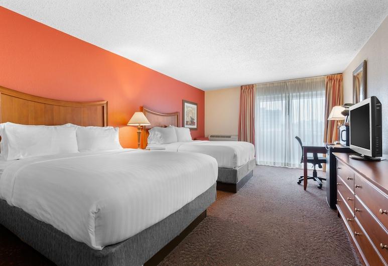 Holiday Inn Express Chicago-Downers Grove, Downers Grove, Quarto, 2 camas queen-size, Não-fumadores, Vista do Quarto