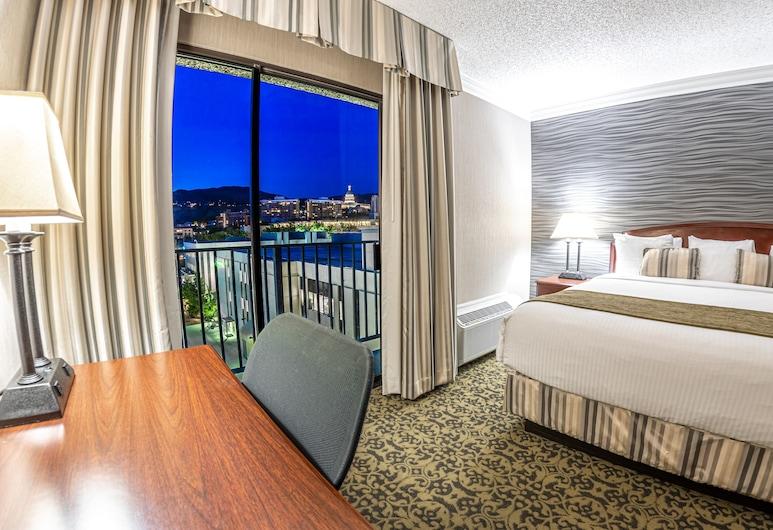 Salt Lake Plaza Hotel at Temple Square, Salt Lake City, Standard Room, 1 King Bed, Guest Room