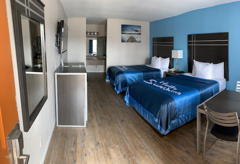 Days Inn by Wyndham Orange, Orange, Habitación doble, 2 camas dobles, para fumadores, Habitación