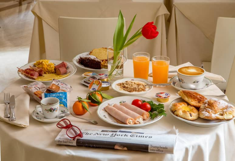 Hotel Canada, BW Premier Collection by Best Western, Rome, Breakfast Area