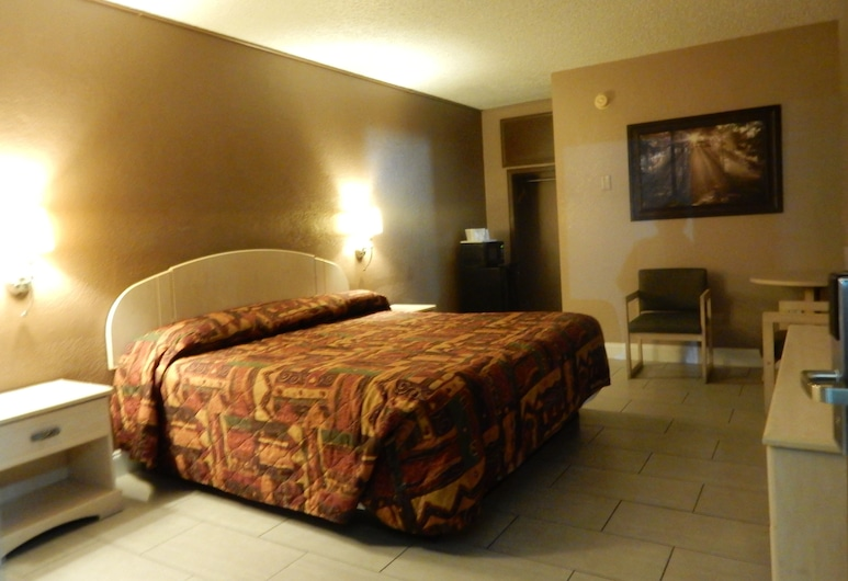 Sunset Inn, St. Augustine, Economy eenpersoonskamer, 1 slaapkamer, Kamer
