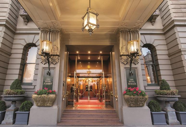 The Hotel Windsor, Melbourne, Hotel Entrance