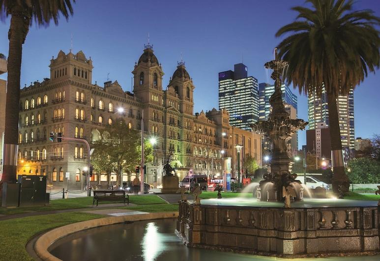 The Hotel Windsor, Melbourne, Mặt tiền khách sạn