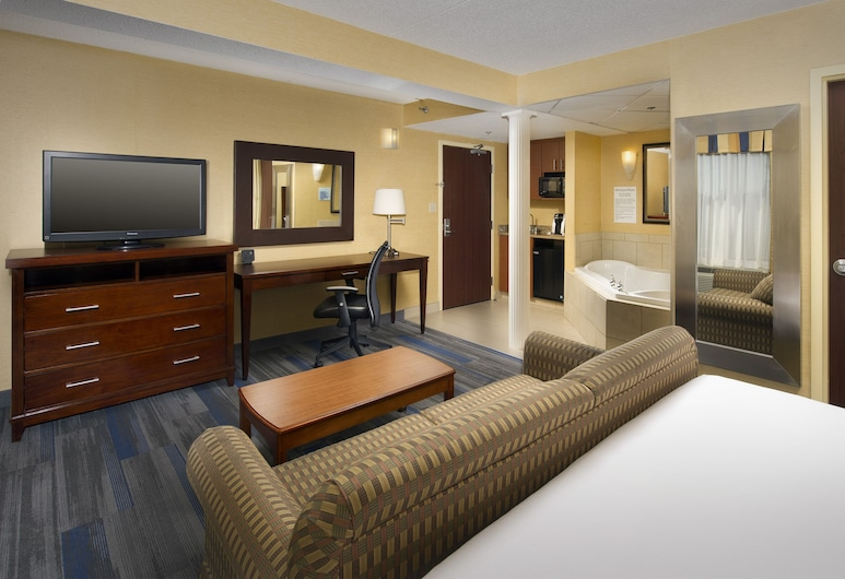 Holiday Inn Express Washington DC - BW Parkway, Hyattsville, Room, 1 King Bed, Non Smoking (Whirlpool), Guest Room
