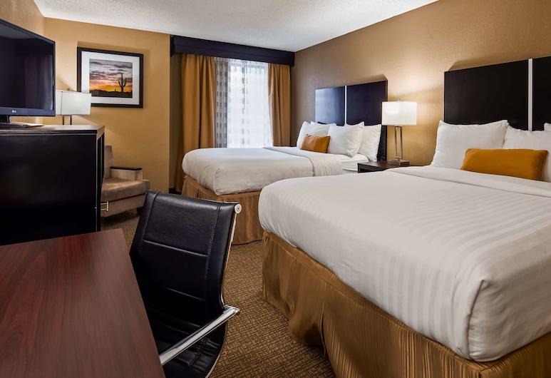Best Western Harrisburg North Hotel, Harrisburg, Standaard kamer, 2 queensize bedden, niet-roken, magnetron, Kamer